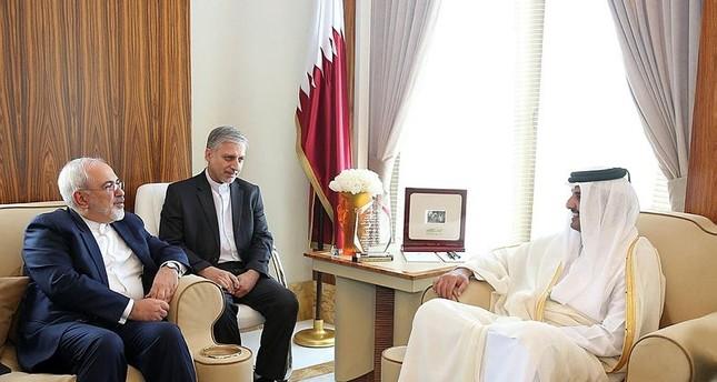 ظريف في زيارة إلى قطر لبحث علاقات البلدين والمنطقة