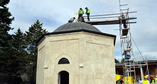 Turkey, Hungary restore 500-year-old Ottoman tomb