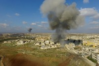 Russia resumes airstrikes in Syria's opposition-held Idlib