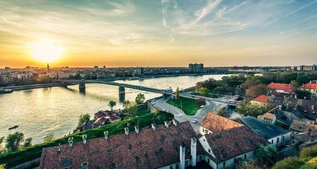 Belgrade: Where Sava and the Beautiful Blue Danube meet.