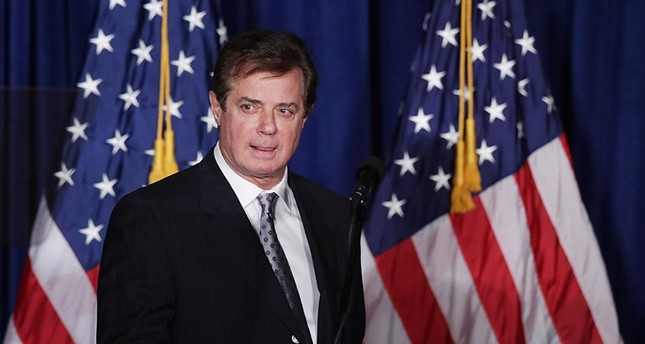 This file photo taken on April 26, 2016 shows Paul Manafort, former advisor to Republican presidential candidate Donald Trump's campaign AFP Photo