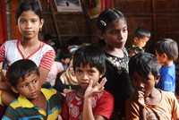 Childhood lost as Rohingya children fill parents' shoes