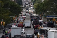Traffic jams cost U.S. drivers an average of $1,200 a year in wasted fuel and time, and much more in Los Angeles, the city with the world's biggest rush hour traffic delays, according to a study by...