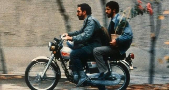 "A still from the film ""Nema-ye Nazdik"" (""Close up"")."