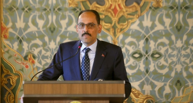 متحدث الرئاسة التركي إبراهيم قالن