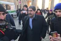 PYD leader Muslum attends PKK demo in Berlin
