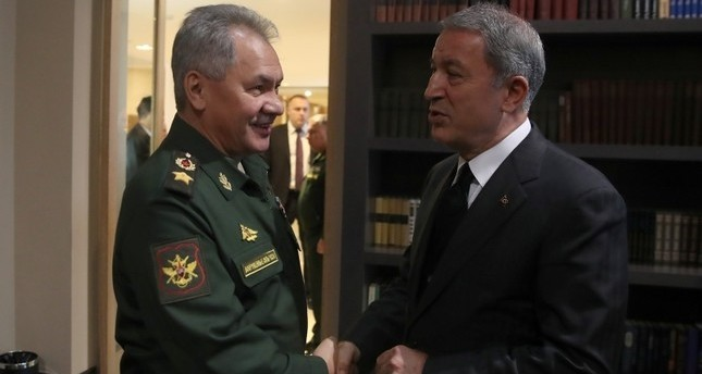 Turkey's defense minister, Russian counterpart discuss ways to preserve cease-fire in Syria's Idlib