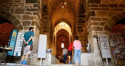 Seljuk-era caravansary opens doors to visitors in central Turkey
