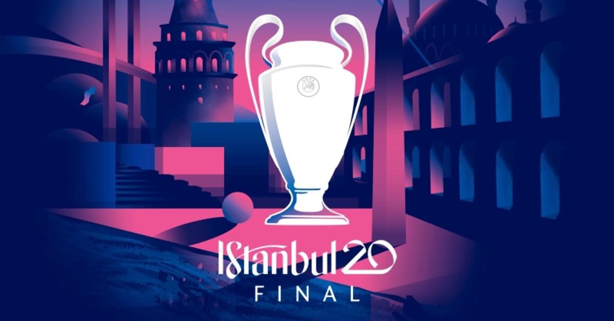 uefa unveils logo for 2020 champions league final in istanbul daily sabah 2020 champions league final in istanbul