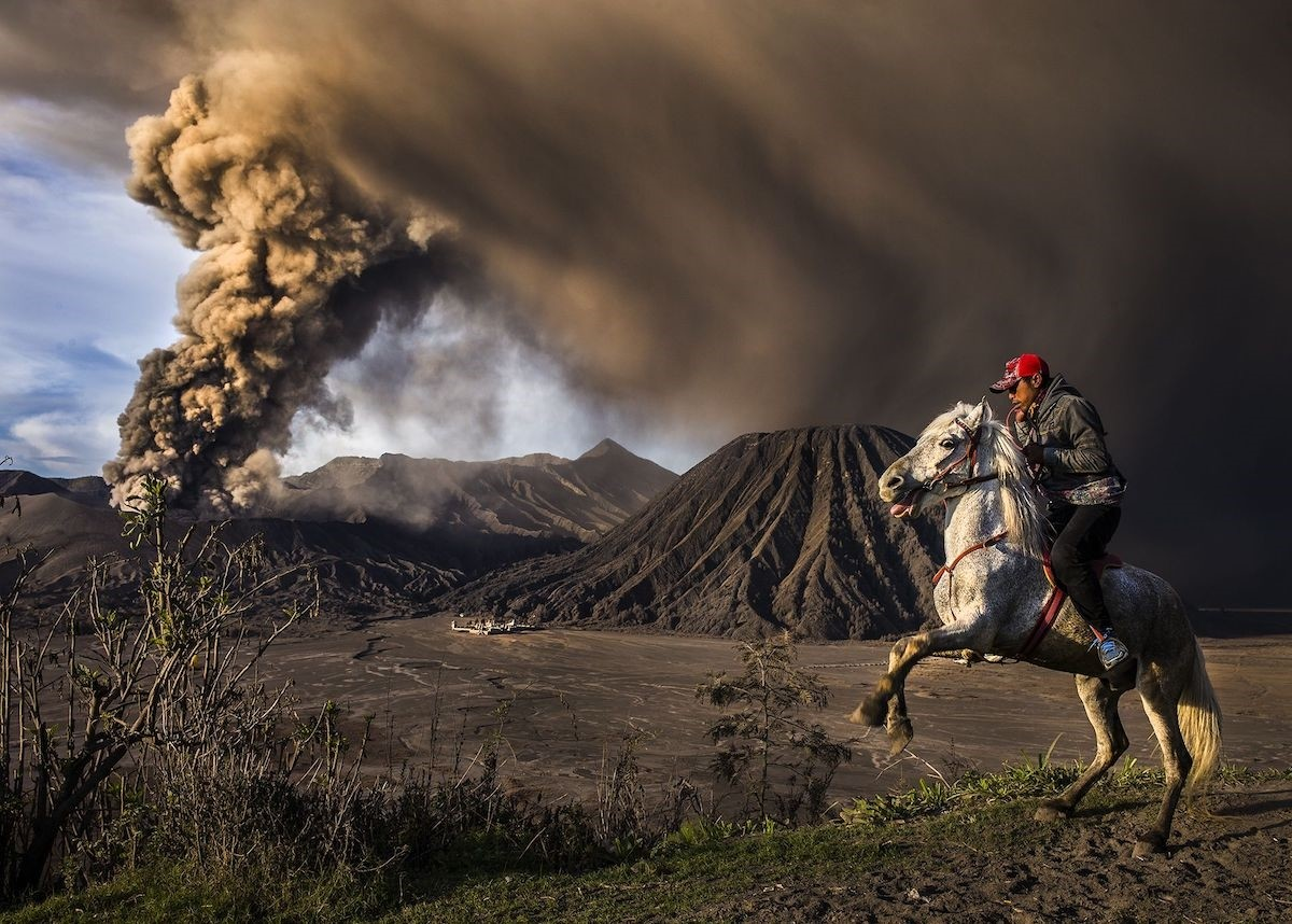 On Guard, Bromo Semeru Tengger National Park, Indonesia - 2nd place, Journeys and Adventures