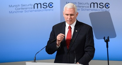 pUS Vice-President Mike Pence Saturday pledged an unwavering commitment to transatlantic ties, in an emphatic reassurance to allies including German Chancellor Angela Merkel who pleaded with...