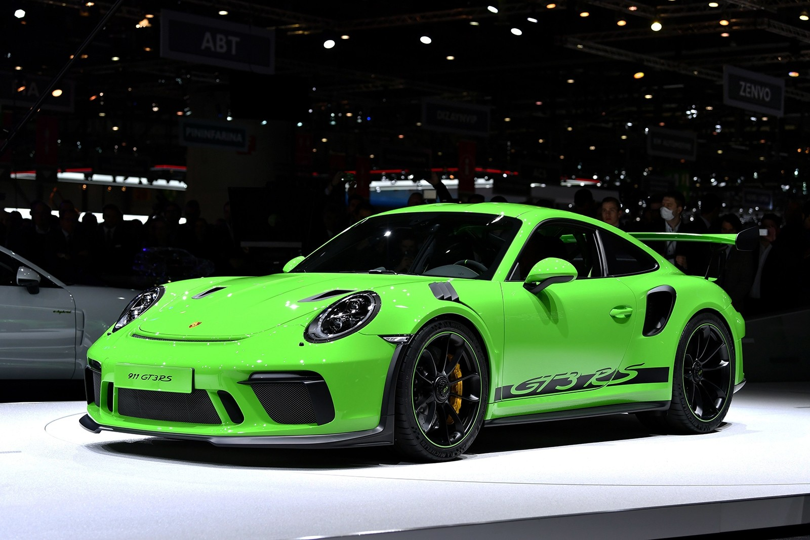 Porsche 911 GT3 RS. (AFP Photo)