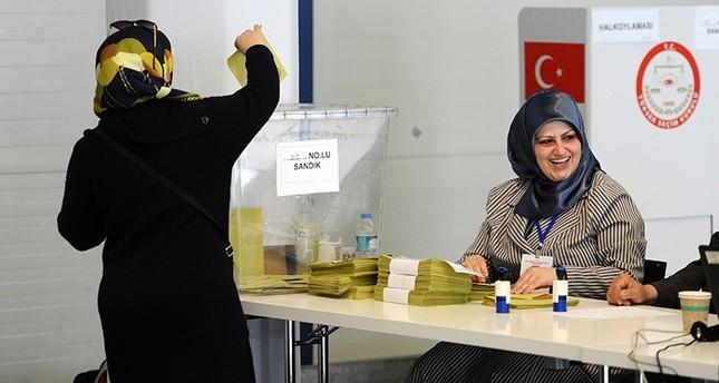 أتراك أمريكا يبدؤون التصويت في استفتاء التعديلات الدستورية غداً
