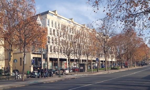 The  Cite Internationale des Arts in Paris.