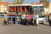 8 wounded after blast hits bus carrying prisoners in Turkey's Izmir