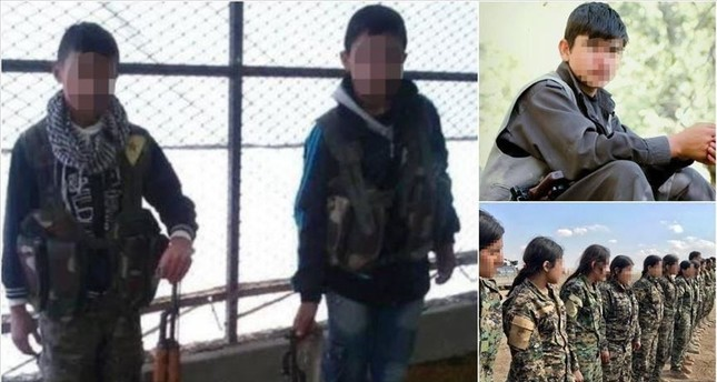 ي ب ك الإرهابي يجند الأطفال السوريين للقتال في صفوفه