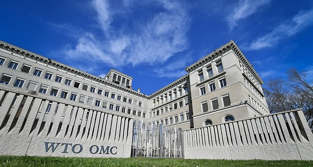 World Trade Organization's headquarters in Geneva (AFP Photo)