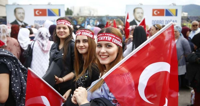 Turkish People Living In Europe Criticized European Countries For Their Hostile Attitudes Against Turkey They Also Added That Even Though They Are Pleased