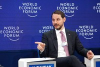 Finance Minister Albayrak: Turkey brings brighter outlook to World Economic Forum