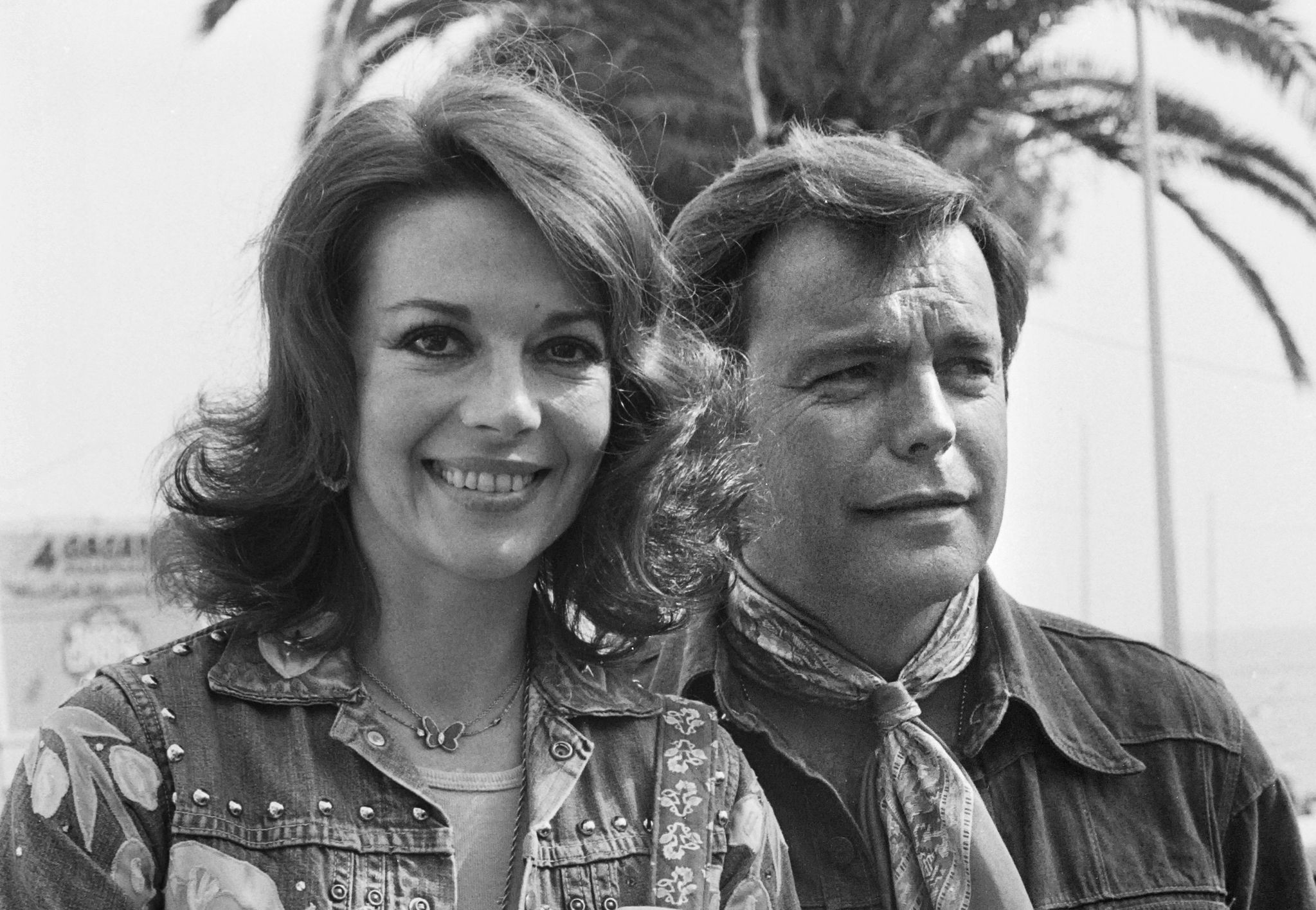 This file photo taken on May 18, 1976, shows actorss Natalie Wood and her husband Robert Wagner during the 29th Cannes Film Festival in Cannes. (AFP Photo)