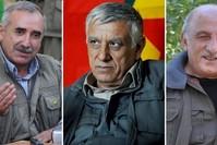|Karayılan (L), Bayık (M) und Kalkan (R)