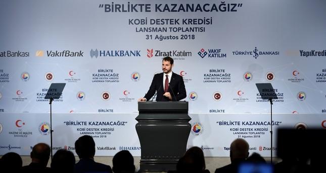 Finanzminister Albayrak: Ratingagenturen reden türkische Banken schlecht