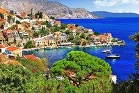 Greece has a number of islands, the Dodecanese and the North Aegean island clusters, neighboring Turkey's western coast that are serviced by regular ferriea and hydrofoils making for a great...