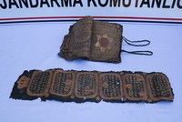 Security forces seize gilded Bible, Hebrew edict in southeastern Turkey