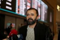حلمي بالجي، مسؤول الشؤون الإدارية والمالية بمكتب الأناضول في القاهرة لدى وصوله مطار إسطنبول الأناضول