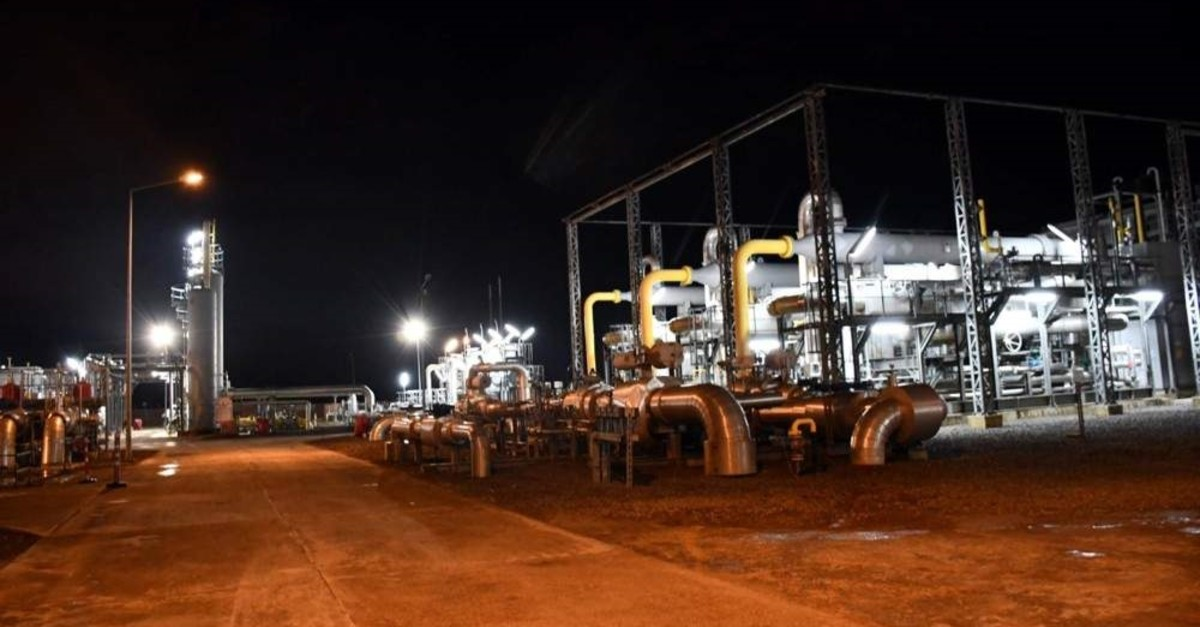 By the end 2019, Turkey's natural gas storage capacity amounted to 3.44 billion cubic meters while the daily natural gas transmission system reached a capacity of 318 mcm. (DHA Photo)