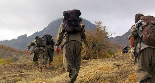 PKK terrorists (File photo)