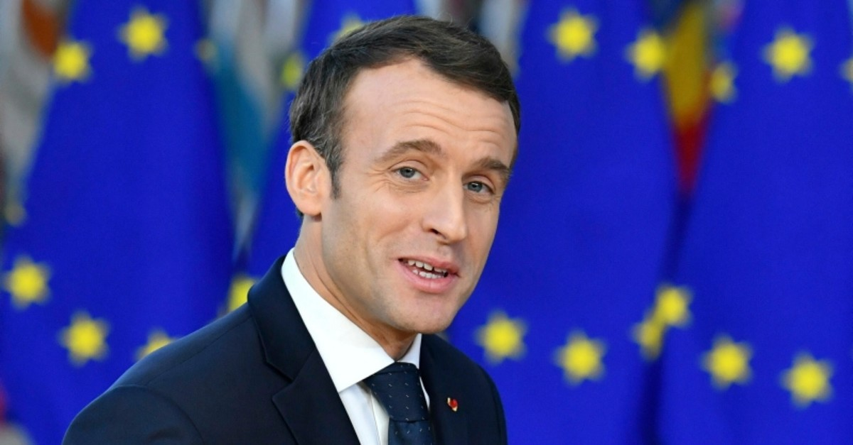 In this Thursday, Dec. 13, 2018 file photo French President Emmanuel Macron arrives for an EU summit in Brussels. (AP Photo)