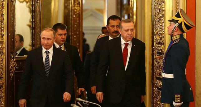 أردوغان يدعو موسكو لوقف أنشطة بي ي د وغولن على أراضيها