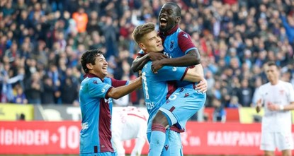 Trabzonspor in Süper Lig lead after 9 years