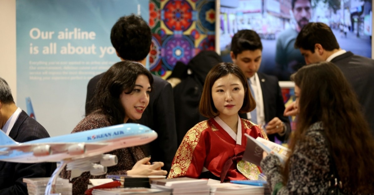 The East Mediterranean International Travel and Tourism Exhibition is one of the largest travel expos in the world. (AA Photo)
