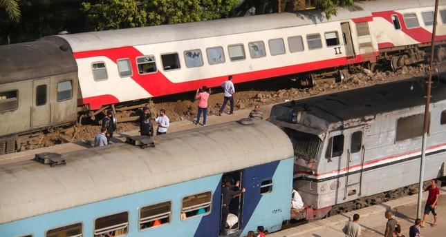 Passenger train derailment injures 55 near Egypt's Giza