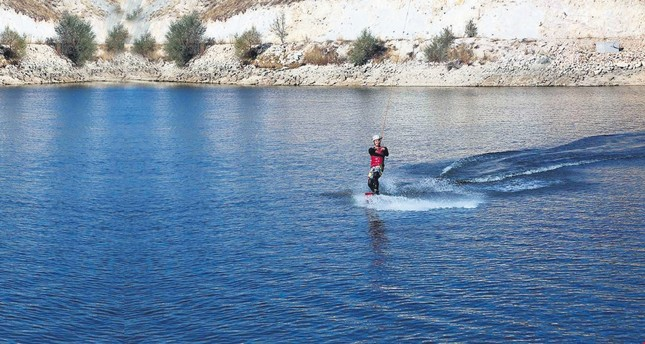 Water skiing in the moorland? Possible in Central Anatolia