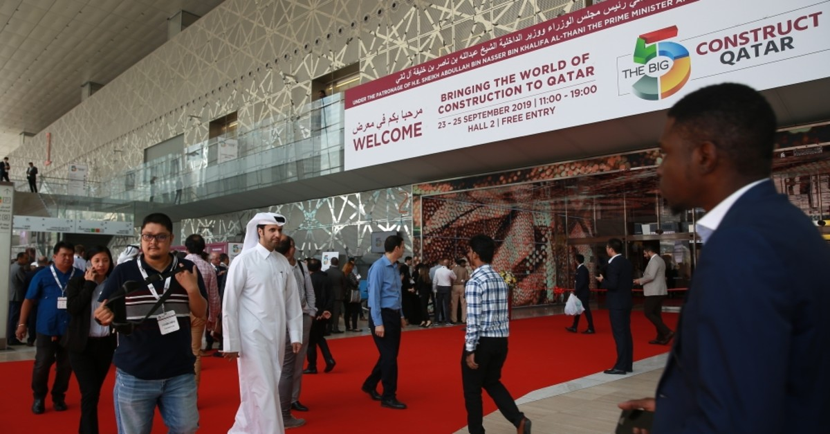 Turkish construction companies have so far taken part in a number of megaprojects in Qatar, including high-rises, stadiums, highways and airports.