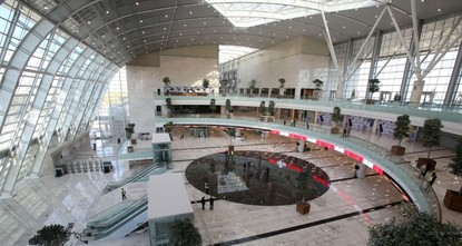 Amid Turkey's ambitious expansion of its railway network, capital Ankara is set to unveil a spectacular train station, just one of the growing number of stops for the high-speed train service.br...