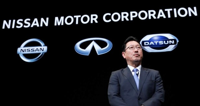 Nissan Motor's executive officer vice-COO Jun Seki attends a news conference at Nissan Motor's headquarters in Yokohama, Japan, Dec. 2, 2019. Reuters Photo
