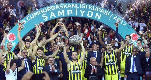 Fenerbahçe wins Turkish President's Cup