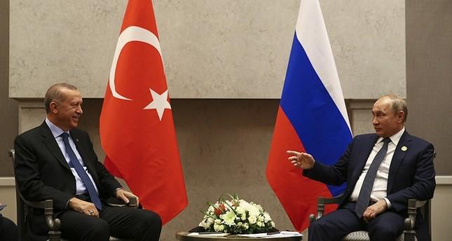 أردوغان يلتقي بوتين على هامش قمة بريكس