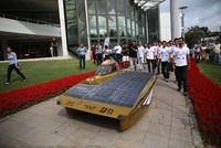 """Die """"Solar Car Crew"""