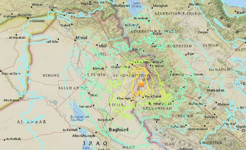 more than 400 killed after magnitude 73 quake on iran iraq border region