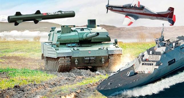 صادرات تركيا من الأسلحة ترتفع 170% خلال 10 سنوات