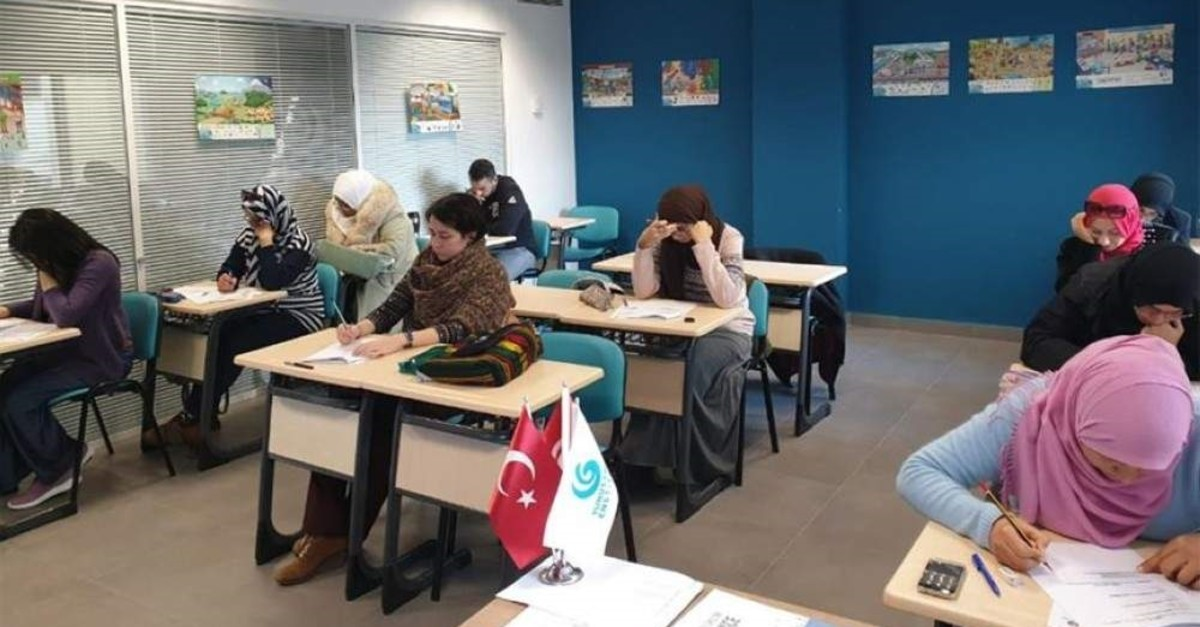 The institute also offers traditional Turkish classes in dozens of countries. (AA Photo)