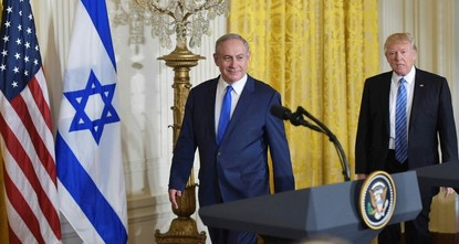 Hosting Israeli Prime Minister Benjamin Netanyahu for the first time, U.S. President Donald Trump did not insist on a two-state solution as part of a peace accord while renouncing Washington's...