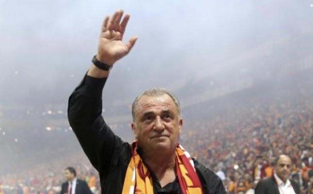Galatasaray's Fatih Terim
