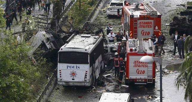 انفجار اسطنبول.. استشهاد 7 من الشرطة التركية و4 مواطنين وإصابة 36