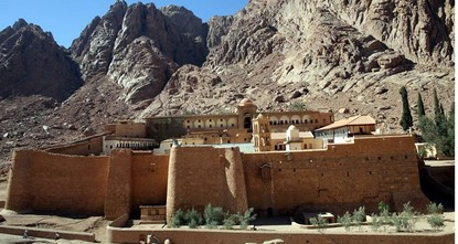 pEgypt reopened on Saturday an ancient library which holds thousands of centuries-old religious and historical manuscripts at the famed St. Catherine Monastery, a UNESCO World Heritage site, in...